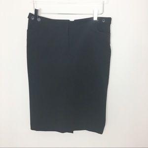 Career wear Midi black pencil skirt sexy